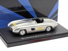 Mercedes-Benz 300 SL Porter Special 1956 silver 1:43 AutoCult