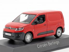 Citroen Berlingo van year 2018 red 1:43 Norev