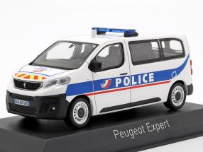 Peugeot Expert van Police Nationale Construction year 2016 White / blue 1:43 Norev
