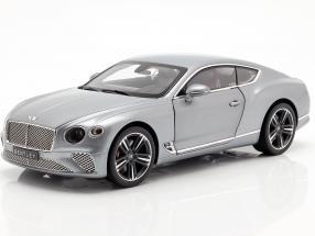Bentley Continental GT year 2018 hallmark grey metallic 1:18 Norev