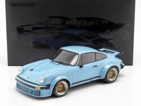 Porsche 934 year 1976 blue 1:12 Minichamps