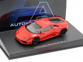 Lamborghini Huracan LP610-4 year 2014 red 1:43 AUTOart
