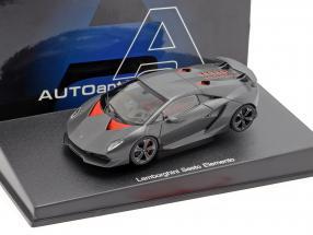 Lamborghini Sesto Elemento Year 2010 Carbon / Grey 1:43 AUTOart