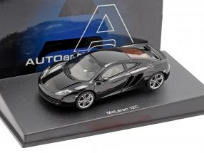 McLaren MP4-12C year 2011 black metallic 1:43 AUTOart