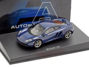 McLaren MP4-12C Year 2011 blue metallic 1:43 AUTOart