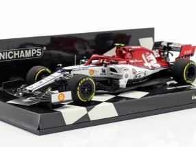 Antonio Giovinazzi Alfa Romeo Racing C38 #99 Chinese GP F1 2019 1:43 Minichamps