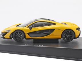 McLaren P1 Year 2013 volcano yellow
