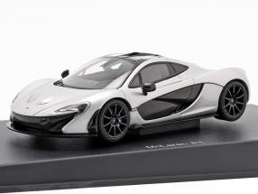 McLaren P1 Year 2013 ice silver 1:43 AUTOart