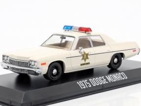 Dodge Monaco Hazzard County Sheriff year 1975 white 1:43 Greenlight