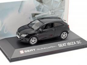 Seat Ibiza SC black 1:43 Seat
