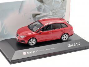 Seat Ibiza ST red metallic 1:43 Seat