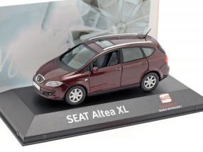 Seat Altea XL dark red metallic 1:43 Seat