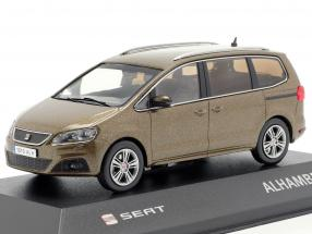 Seat Alhambra II brown metallic 1:43 Seat