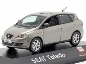 Seat Toledo III sombra grey metallic 1:43 Seat