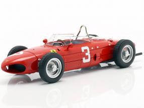 W. Graf Berghe v. Trips Ferrari 156 Sharknose #3 winner Dutch GP F1 1961 1:18 CMR