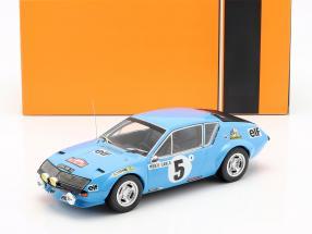 Renault Alpine A310 #5 Rallye Monte Carlo 1975 Therier, Vial 1:18 Ixo