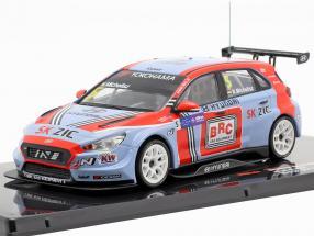 Hyundai i30 N TCR #5 WTCR 2018 Norbert Michelisz 1:43 Ixo
