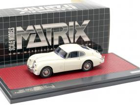 Jaguar XK150 S 3.8 Fastback by Hartin 1960 cream white 1:43 Matrix