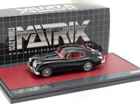 Jaguar XK150 S 3.8 Fastback by Hartin 1960 black 1:43 Matrix