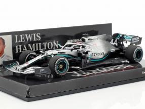 L. Hamilton Mercedes-AMG F1 W10 #44 United States GP World Champion F1 2019 1:43 Minichamps