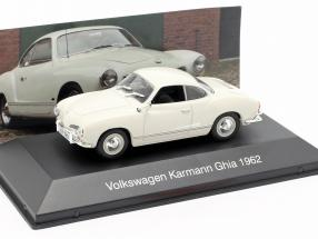 Volkswagen VW Karmann Ghia year 1962 white 1:43 Altaya