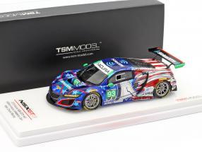Acura NSX GT3 #93 IMSA 6h Watkins Glen 2018 Aschenbach, Marks 1:43 TrueScale