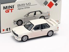 BMW M3 (E30) LHD alpine white 1:64 TrueScale