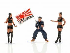 LB-Works Mr. Kato & Show Girls characters Set 1:64 TrueScale