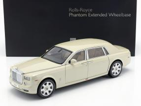 Rolls Royce Phantom EWB year 2012 carrera white 1:18 Kyosho