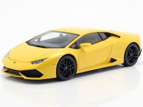 Lamborghini Huracan LP610-4 Year 2014 yellow 1:18 AUTOart