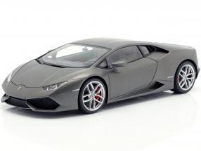 Lamborghini Huracan LP610-4 Year 2014 titanium mat gray 1:18 AUTOart