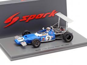 Jackie Stewart Matra MS80 #7 Winner spanish GP World Champion F1 1969 1:43 Spark