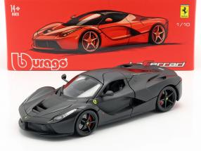 Ferrari LaFerrari Year 2013 Matt black 1:18 Bburago Signature