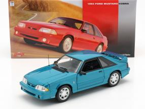 Ford Mustang Cobra year 1993 teal 1:18 GMP
