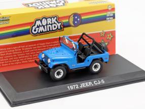 Jeep CJ-5 1972 TV series Mork & Mindy 1978-82 blue 1:43 Greenlight