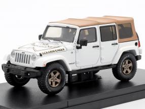 Jeep Wrangler Unlimited Golden Eagle 2018 white 1:43 Greenlight
