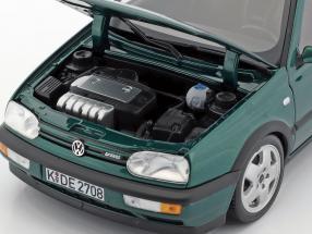 Volkswagen VW Golf III VR6 year 1996 green metallic