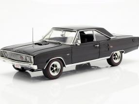 Dodge Coronet R/T Hemi year 1967 black 1:18 GMP
