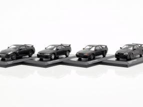 4-Car Set Nissan GT-R 50th Anniversary 1:64 Kyosho