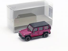 Mercedes-Benz AMG G65 year 2015 purple metallic 1:87 Minichamps