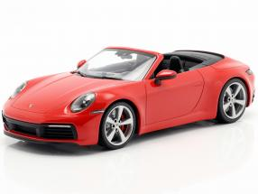 Porsche 911 (992) Carrera 4S Cabriolet year 2019 red