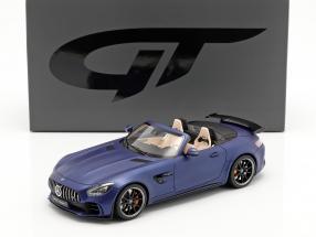 Mercedes-Benz AMG GT-R Roadster 2019 blue metallic 1:18 GT-Spirit