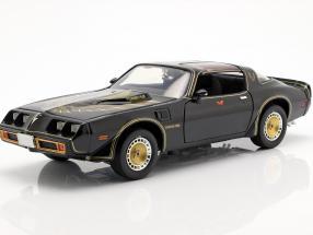 Pontiac Trans Am Smokey and the Bandit II 1977 black / gold 1:18 Greenlight
