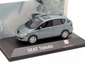 Seat Toledo III year 2004-2009 blue grey metallic 1:43 Seat