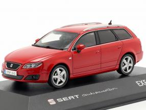 Seat Exeo ST year 2009 emotion red 1:43 Seat