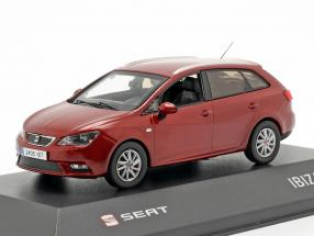 Seat Ibiza ST dark red metallic 1:43 Seat