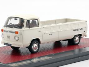 Volkswagen VW T2 Kemperink Speciaal Pick-Up year 1976 white 1:43 Matrix
