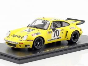 Porsche 911 Carrera RSR #70 24h LeMans 1977 de Lautour, Delaunay, Guerin 1:43 Spark