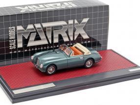 Aston Martin DB2 Vantage DHC Open Top 1951 green metallic 1:43 Matrix