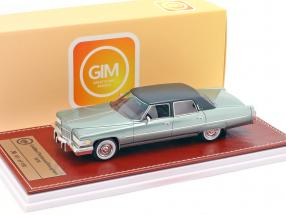 Cadillac Fleetwood Brougham year 1976 green metallic 1:43 Great Iconic Models